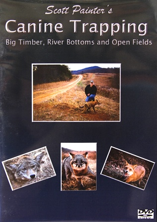"""Scott Painter's """"Canine Trapping"""" DVD #00082714"""